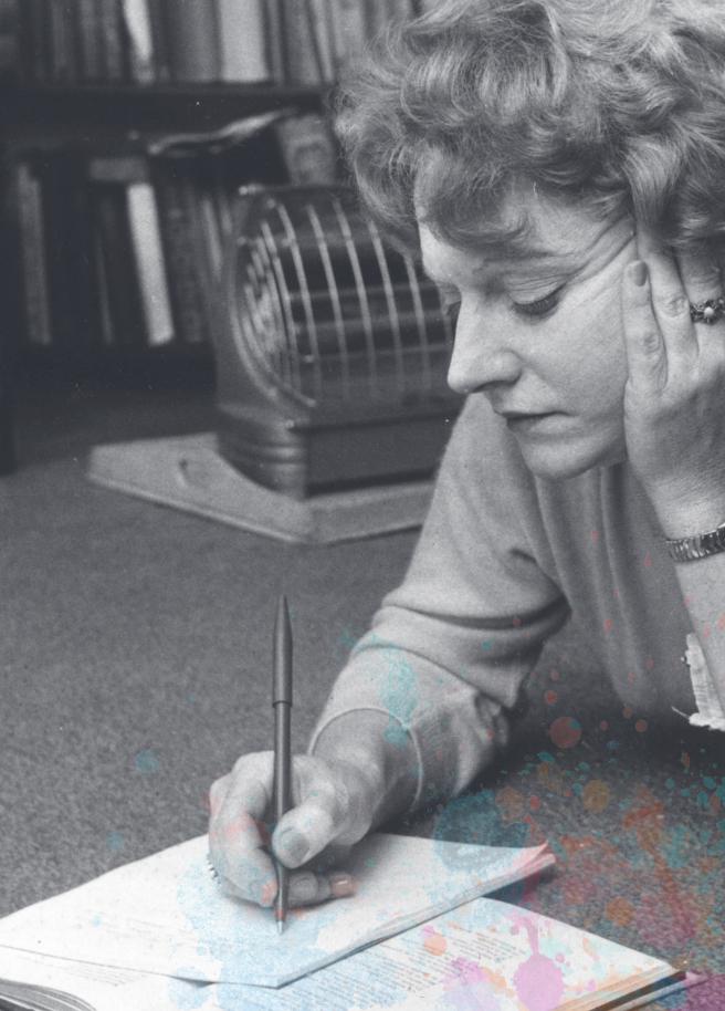 Portrait of Muriel Spark (photograph)